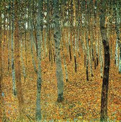 Klimt, Gustave - 1902 Beech Grove I by RasMarley, via Flickr
