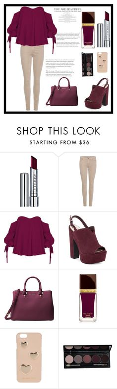 """""""i love it"""" by zuzudesign ❤ liked on Polyvore featuring By Terry, 7 For All Mankind, Jessica Simpson, Michael Kors, Tom Ford and MICHAEL Michael Kors"""