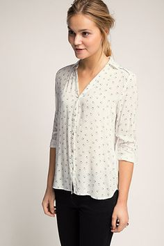 Esprit / loose printed blouse