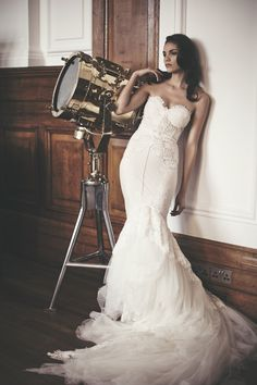 London Wedding Inspiration Featuring Inbal Dror Wedding Dresses