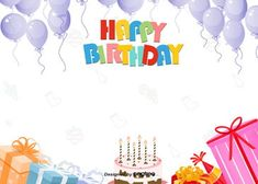 happy birthday background for colorful cute party Cartoon Birthday Cake, Birthday Party Images, Colorful Birthday Party, Cute Happy Birthday, Happy Birthday Greeting Card, Happy Birthday Balloons, Happy Birthday Parties, Adult Birthday Party, Happy Birthday Wishes