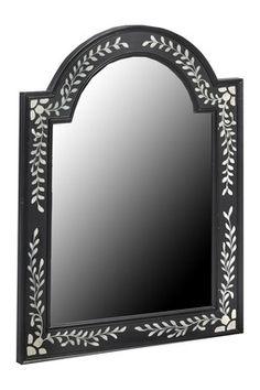 Zanzibar Hand Painted Arch Top Mirror