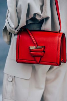 theStyleShake   Fashion / Accessories / Purse   bright red cross body bag
