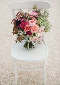 Plum bridal bouquet Flowers by Shotgun Florals Photo by Delbarr Moradi Photography 100 Layer Cake Plum Wedding, Fall Wedding Bouquets, Bride Bouquets, Floral Bouquets, Floral Wedding, Wedding Flowers, Bouquet Flowers, Trendy Wedding, Gladiolus Wedding