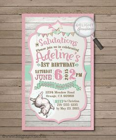Charlotte's Web 1st Birthday Invitations and by DelightInvite