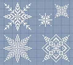 ONE OF A KIND: X MAS STARS SNOWFLAKES CROSS WZORCOWNIA