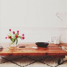 You searched for diy coffee table - French By Design Coffee Table With Wheels, Low Coffee Table, Cleaning Walls, Low Tables, Home Comforts, Colorful Furniture, Minimalist Home, Dining Room Table, Sweet Home