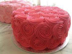 Yummy Rosetta cakes