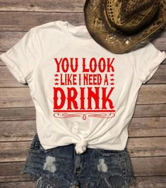 You look like I need a drink Wild Heart Country Soul Country shirt Concert tank Summer tank country music whiskey tank jason aldean - Lyric Shirts - Ideas of Lyric Shirts - Cute Concert Outfits, Music Festival Outfits, Lyric Shirts, Vinyl Shirts, Concert Shirts, Women's Shirts, Country Shirts, Country Music Outfits, Country Girl Clothing