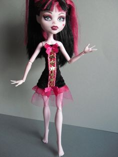 Handmade Clothes for Monster High Doll Kleidung von MonstaFashion, €7.55