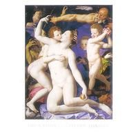 Venus And Cupid By Agnolo Bronzino: Category: Art Currency: GBP Price: GBP23.00 Retail Price: 23.00 Classicism Figurative Nudes Groups…