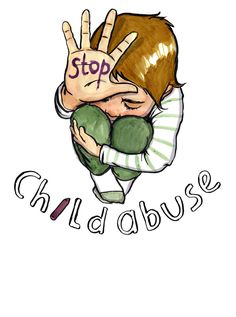 Image concept for the next #BlueSunday child abuse campaign.