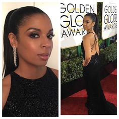 BAM! @susankelechiwatson giving so much glam tonight on the #redcarpet ! #makeup #gregoryarltbeauty  @xclusiveartists | #hair @larryjarahsims | #styling @daniandemmastyle | #susankelechiwatson #thisisus @nbcthevoice | #maccosmetics 💄💋
