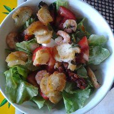 Salat with shrimps / krevetový salát / Respelido 2012