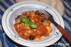 Pollo alla cacciatore, czyli włoski kurczak po myśliwsku