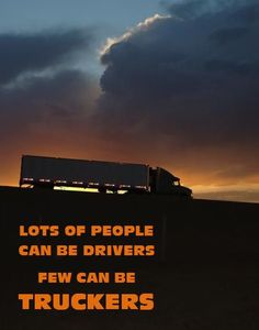 Lots of people can be drivers, few can be TRUCKERS #TruckDriverAppreciation #porkrinds