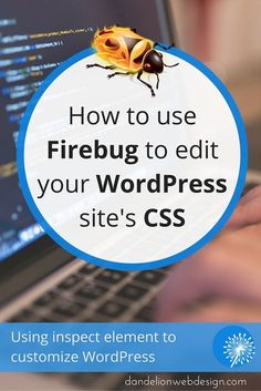 Firebug can help you easily pinpoint a css class for a given element and find the line number in your stylesheet without having to read through lines and lines of code. This simplifies making changes to your #WordPress website or blog.