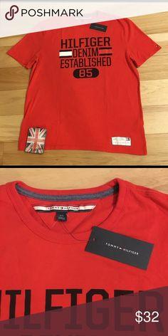 NWT‼️Tommy Hilfiger Denim Red T. NWT Spring '18 Tommy Hilfiger Shirts Tees - Short Sleeve