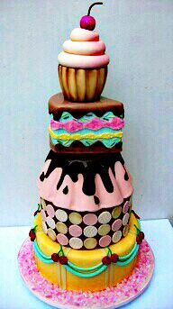 Cake blur