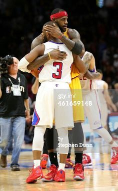 Chris Paul - Los Angeles Clippers and Lebron James