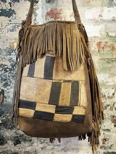 T Smith Knowles Vintage African Patchwork Bag #1031 on http://fb.com/WorldsFashion