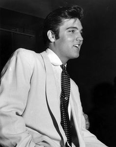Elvis Presley ~ a reminder of what the fuss was all about.