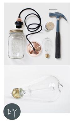 DIY: mini lampade