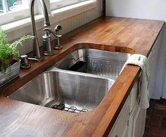 ikea butcher block counter top