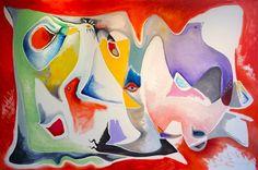 Avian Meditation no. 1 Peter Triantos oil on canvas