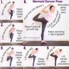 mermaid in infinity pose tutorial omniyogagirltips warm