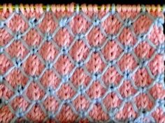 Punto Ropa Bebé #9 How to Knit a Baby Stitch 2 Agujas (349) - YouTube