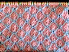 Cómo Tejer Puntada para Ropa Bebé #9 en 2 Agujas (349) - YouTube