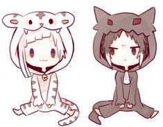 Bungou Stray Dogs Wallpaper, Dog Wallpaper, Dazai Bungou Stray Dogs, Stray Dogs Anime, Anime Kawaii, Anime Chibi, Chibi Characters, Anime Best Friends, Cute Chibi