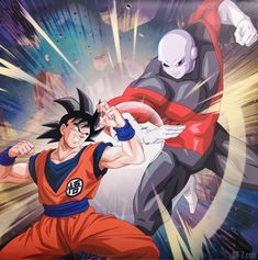 Goku vs Jiren, the best fight in the tournament of power ! Dragon Ball Z, Akira, Dragons, Goku Vs Jiren, Good Anime Series, Z Arts, Anime Merchandise, Anime Costumes, Animes Wallpapers