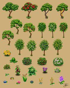 Farm plants by Goramitrio.deviantart.com on @deviantART