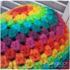 Ravelry: Rainbow Granny Hat pattern by Rina Artstain