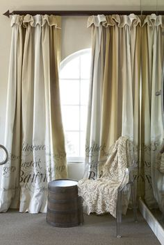 gorgeous ~ drapes design, color & material ∗ by african sketchbook fabric design co. ✿  ~  ◊ photo via roses and rust blogspot