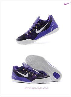 best service f40c5 0f37c Viola Bianco 653972-601 Nike Kobe 9 EM