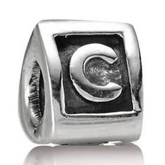 Letter C Charm Sterling Silver - Only $24.99