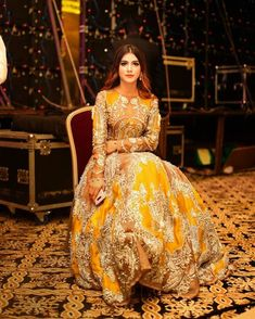 Likes, 215 Comments - Hira Attique Pakistani Wedding Outfits, Bridal Outfits, Pakistani Dresses, Indian Dresses, Indian Outfits, Wedding Sari, Pakistani Mehndi Dress, Engagement Outfits, Saris