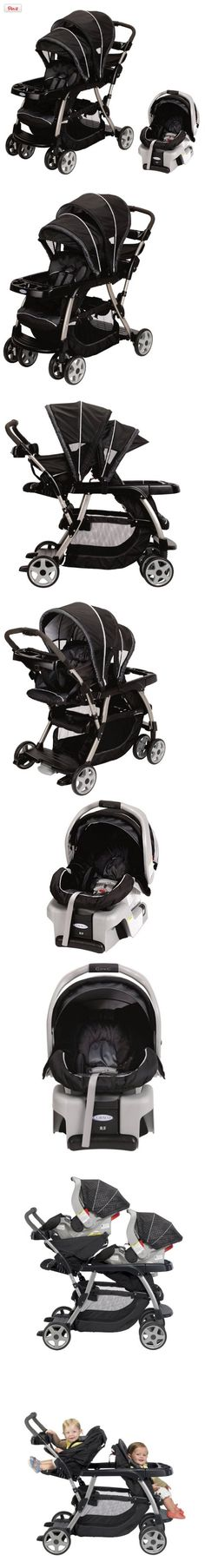 Graco Ready2Grow LX Baby Stoller  SnugRide Car Seat Travel System - Metropolis, Introducing the Graco Ready2Grow Duo Stoller to double the fun of your family adventures! As its name implies, the Ready2Grow stroller is the best choice to get your kids out and about from infancy to..., #Baby, #Travel Systems