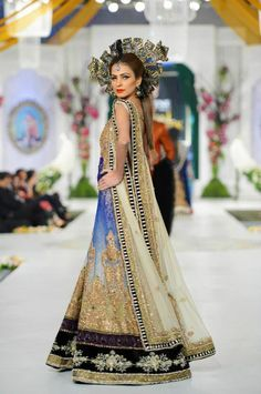 Pakistani Fashion | Bridal Couture Week 2013