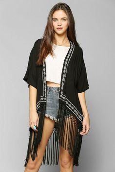 WYLDEHART Firebird Kimono Jacket #urbanoutfitters