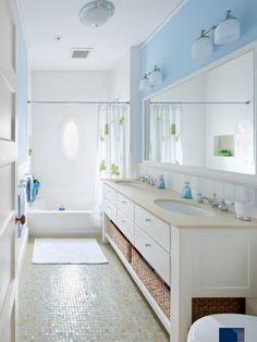 Light Blue Family Rooms Design, Pictures, Remodel, Decor and Ideas - page 6