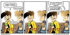 League of Legends comic.