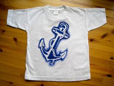 ANCHOR Onsie or Kids Tshirt by LittleTailoress on Etsy
