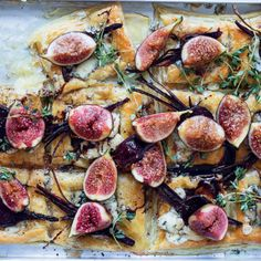 Taste Mag | Tear-and-share fig-and-beetroot tartlets @ https://taste.co.za/recipes/tear-share-fig-beetroot-tartlets/