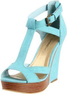 C LABEL Women's Sice-7 Wedge Sandal ~ Details ->> http://amzn.to/KjU4cD