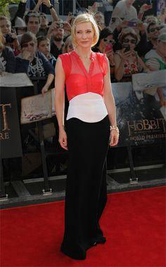 Cate Blanchett in Antonio Berardi; The Hobbit premiere, New Zealand; November 28, 2012  [Vogue: Best Dressed]