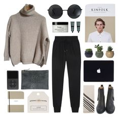 """cleveland"" by jesicacecillia on Polyvore featuring rag & bone, Zadig & Voltaire, philosophy, Aesop, Acne Studios, Clare V., Shinola and Topshop"